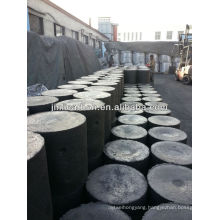 Carbon electrode paste cylinder shape