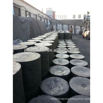Carbon electrode paste cylinder shape