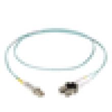 10 Gigabit Multimodo, Zipcord PVC LC-SC Comprimentos Personalizados 50 Micron FO Patch Cable