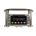 Android 8.0 car audio stereo voor LC100 1998-2007