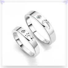 Joyería cristalina joyería de la plata esterlina del anillo 925 de la manera (CR0006)