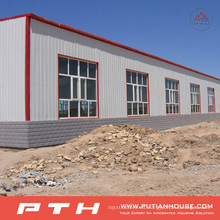 2015 Estructura de acero prefabricada a bajo costo modificada Warehouse