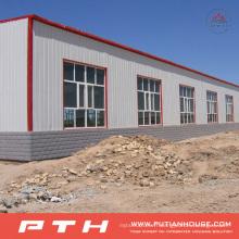 Entrepôt de structure métallique à faible coût de conception préfabriquée