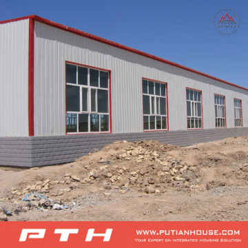 Prefabricated Low Cost Steel Structure Warehouse From Pth with Easy Installation