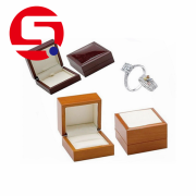 Paper jewelry boxes with logo printed