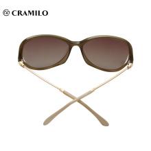 Модные солнцезащитные очки с медным каркасом в итальянском стиле