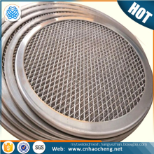 Factory price stainless steel 22 inch pizza mesh screen for oven