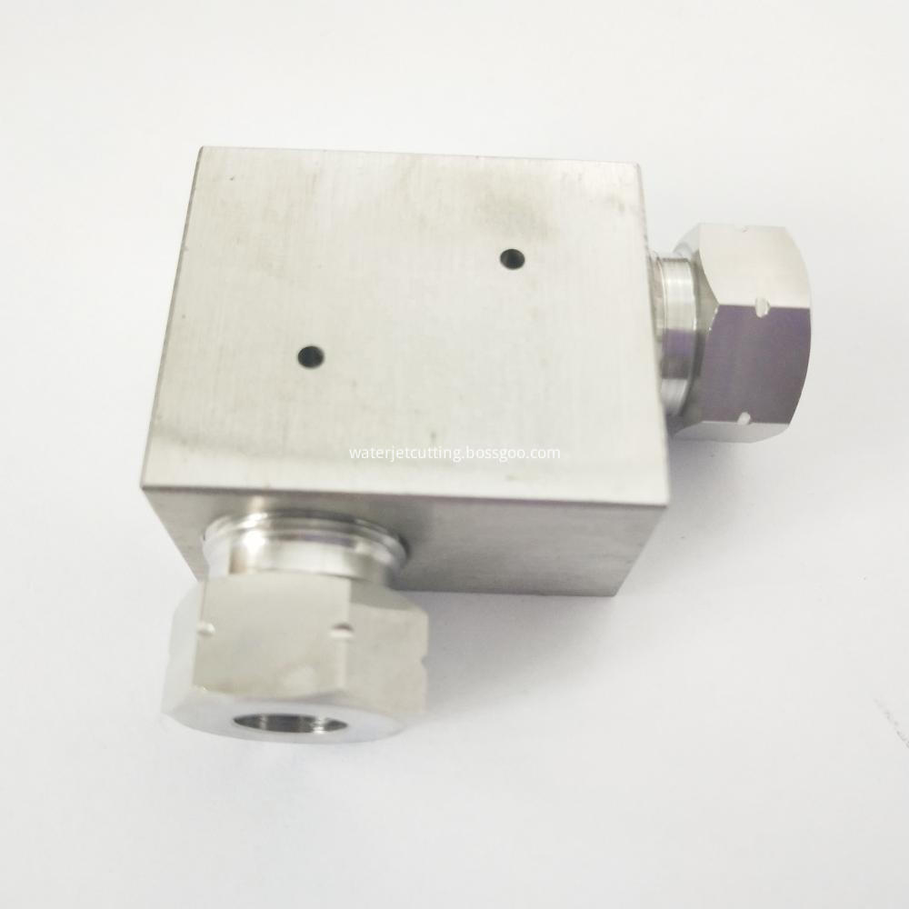Waterjet Spare Parts High Pressure Pipe Fitting 2