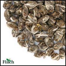 Bienfaits pour la santé Fleur de jasmin naturelle parfumée Dragon Phoenix Perles Thé vert avec bouquet de jasmin