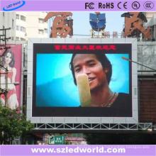 P8 pantalla de visualización LED de alto brillo DIP246 para comercialización
