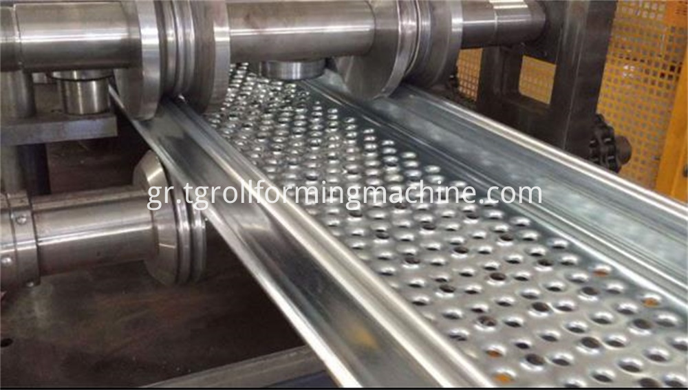 Steel Walk Board Roll Forming Machine
