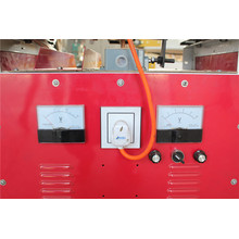 Saw blade welding machine for woodworking sawmill