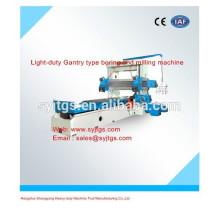Leicht-Gantry-Typ Bohr- und Fräsmaschine Preis zum Verkauf