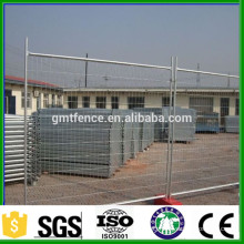 GM lowes price 2016 high quality galvanized temporary picket fence