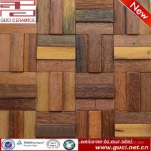 Azulejo de mosaico rentable para azulejos de madera en la decoración de la casa