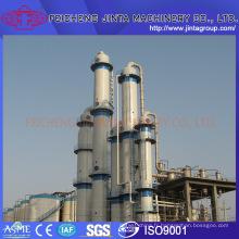 Colonne de distillation d'équipement de distillerie alcoolique / éthanol