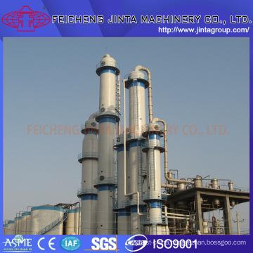 Industrial Alcohol/Ethanol Distillation Equipment Column