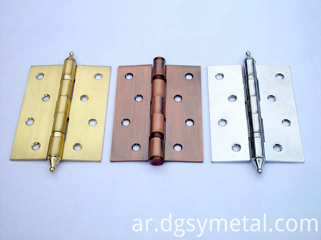 copper hinges