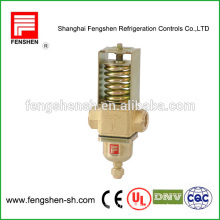 pressure controlled water pressure valve