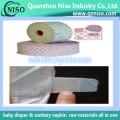 Волшебная лента nonwoven для одноразовые детские подгузники, пеленки сырья крюк ленты