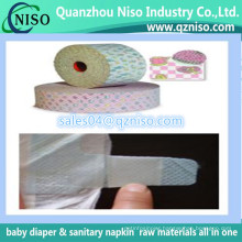 Magic Nonwoven Tape for Disposable Baby Diapers, Diaper Raw Material Hook Side Tape