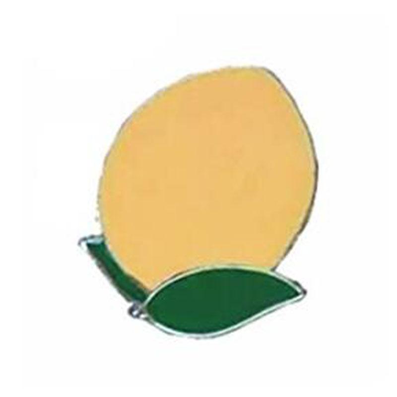 Peach Lapel Pin