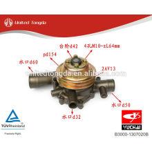 YUCHAI motor YC6108-430 bomba de agua B3000-1307020B