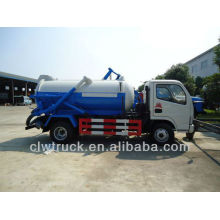 Dongfeng 4x2 3cbm Bolvia vacuum sewage suction truck