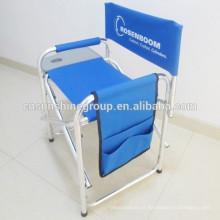 Cadeiras de diretor de dobramento barato ou cadeiras de praia dobrável ou diretor cadeiras com mesas laterais