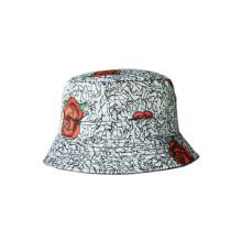Señora Fashion Sombrero al aire libre de la playa del sombrero del cubo de Sun (U0030 / 30B)