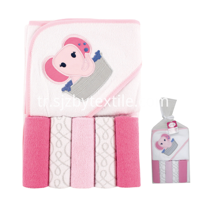 Bamboo Baby Hooded Towel