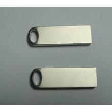 Mini USB Flash Drive Pendrive de aço inoxidável 8GB