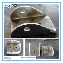 Parte de procesamiento de doblado de metal grueso