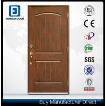 puerta de panel de fibra de vidrio con diseño de puerta de la habitación