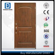porta de painel de fibra de vidro com design de porta do quarto