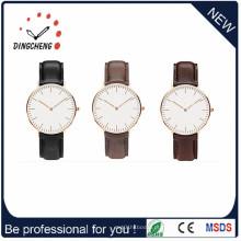 Moda Relógio de pulso de couro impermeável Relógio dos homens (DC-1197)