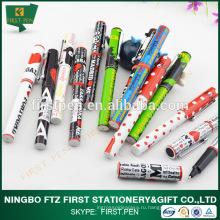 Дешевая таможенная печать Сувенирная шариковая ручка