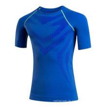Enges Higt elastisches schnelles Schweiß-Mann-Eignungs-Sport-T-Shirt