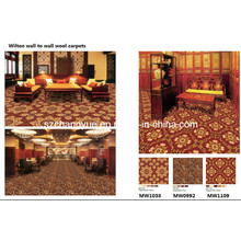 Machine Woven Wilton Wool Wall to Wall Hotel Carpets