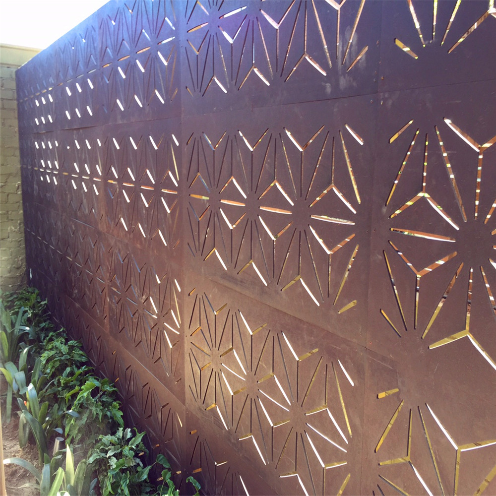 Outdoor Decorative Metal Privacy Screen Panels