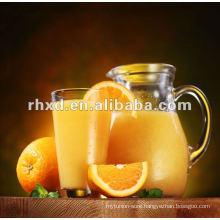 orange juice with good taste and pulp