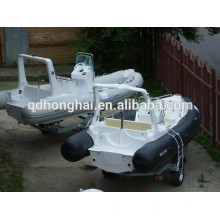 RIB5.8m barco inflável com motor de popa