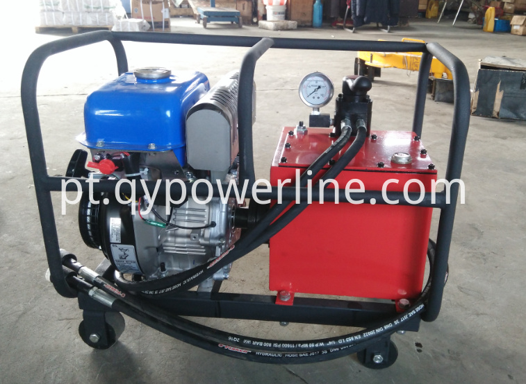 Engine Motorized Hydraulic Pump