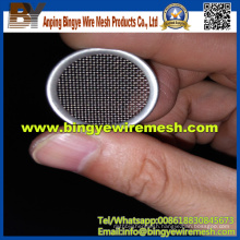 Anping Supplier Stainless Steel Round Filter Pieces