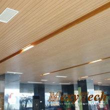 Panneau de mur en bois composite en bois de panneau de salle de réunion