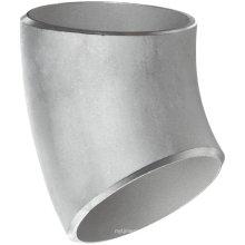 Raccords de tuyaux de 45 degrés Elbow Ss Seamless