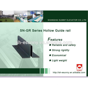 New new arrival 13 people elevator guide rail
