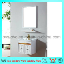 New Design Aluminum PVC Bathroom Vanity Cabinets