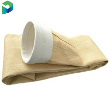 Boiler exhaust Nonwoven needle FMS Glassfibre dust collector filter bag