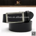 Formal excelente qualidade preto fivela automática ampla cinto de couro
